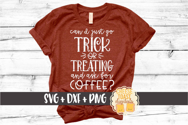 Can I Just Go Trick or Treating and Ask for Coffee?