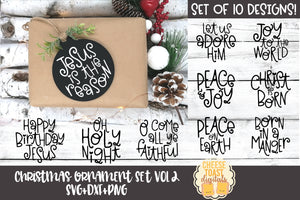 Christmas Ornament Bundle Vol 2