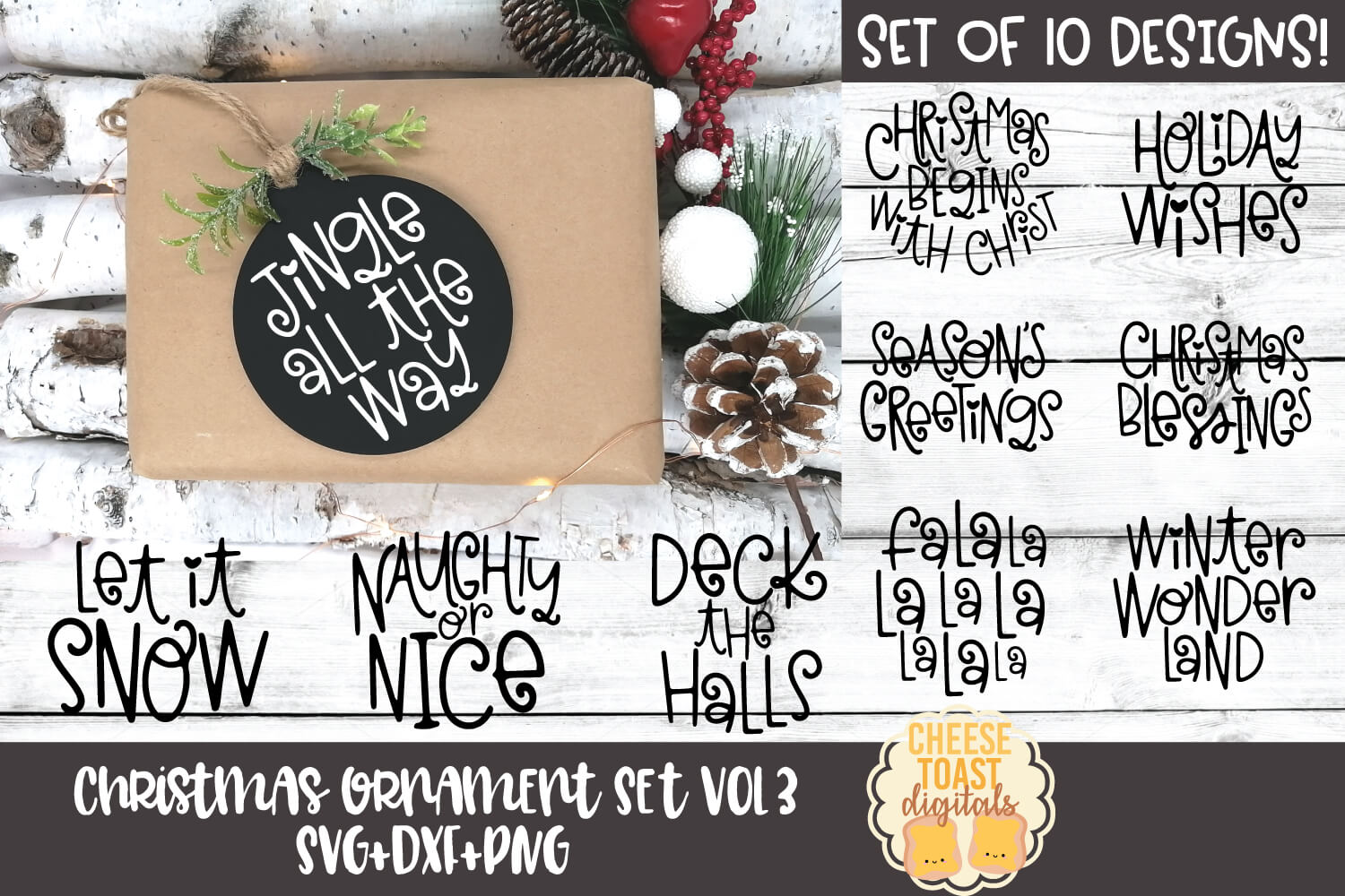 Christmas Ornament Bundle Vol 3