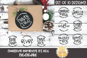 Christmas Ornament Bundle Vol 6