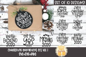 Christmas Ornament Bundle Vol 7
