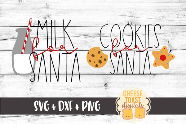 Cookies for Santa - Milk for Santa Set