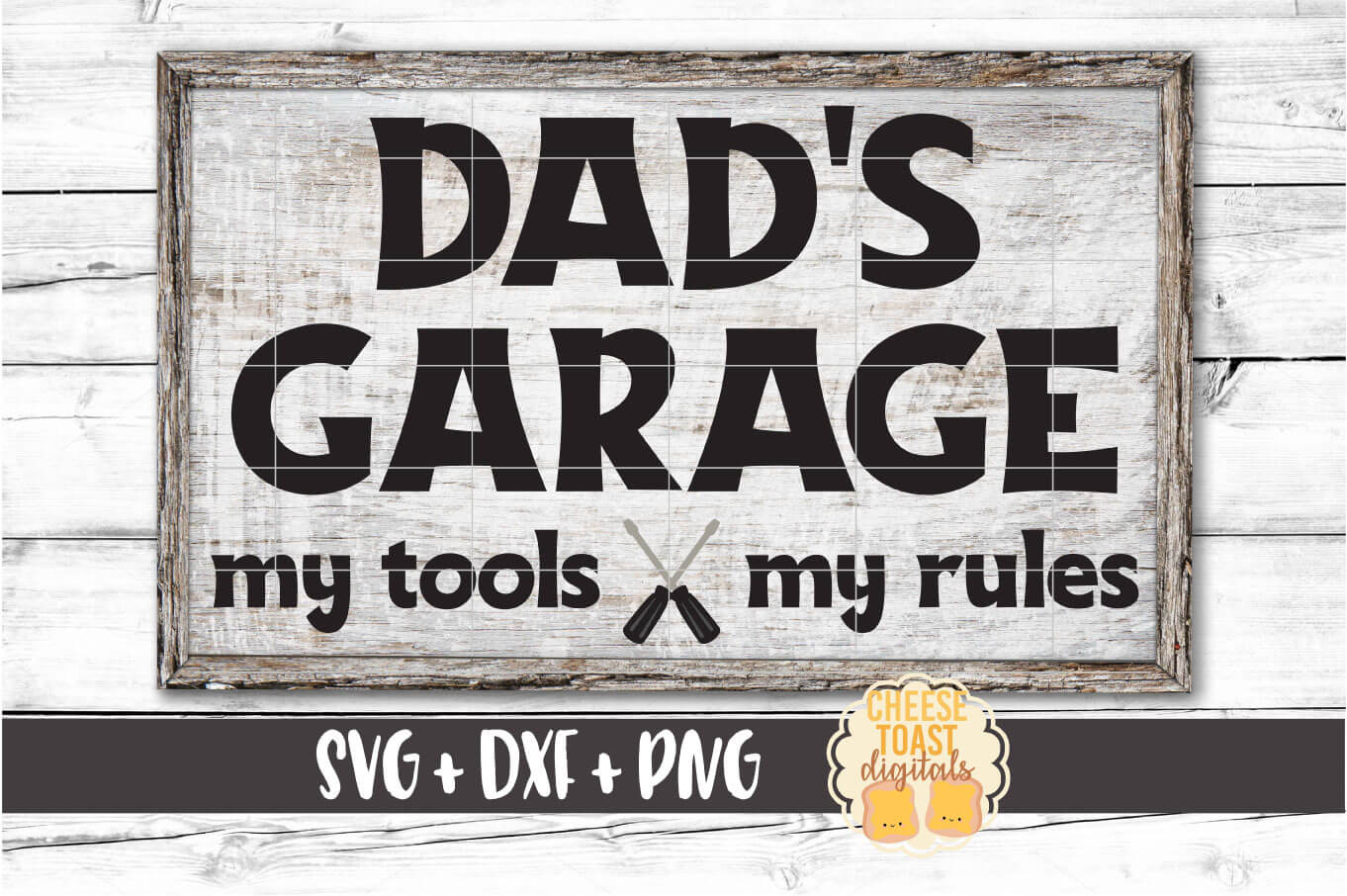 Dad's Garage My Tools My Rules