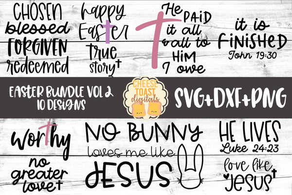 Easter Bundle Vol 2 - 10 Designs