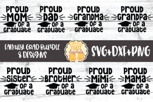 Proud Family Graduation Bundle - 8 Designs