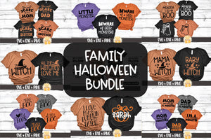 Family Halloween Bundle - Daddy and Me | Mommy and Me