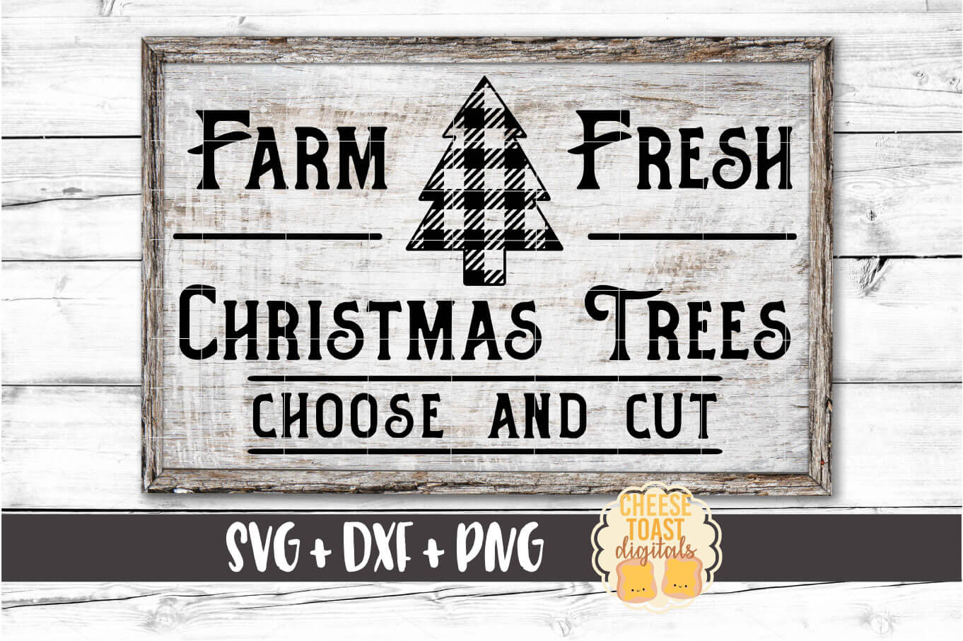 Farm Fresh Christmas Trees - Buffalo Plaid