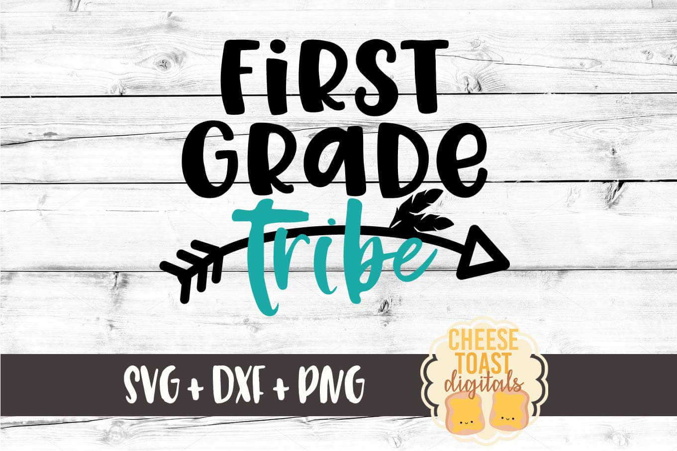 First Grade Tribe - SVG, PNG, DXF