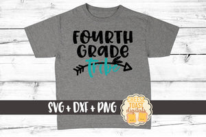 Fourth Grade Tribe - SVG, PNG, DXF