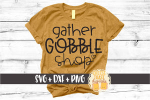 Gather Gobble Shop