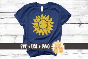 Grunge Sunflower