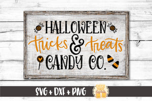 Halloween Tricks & Treats Candy Co