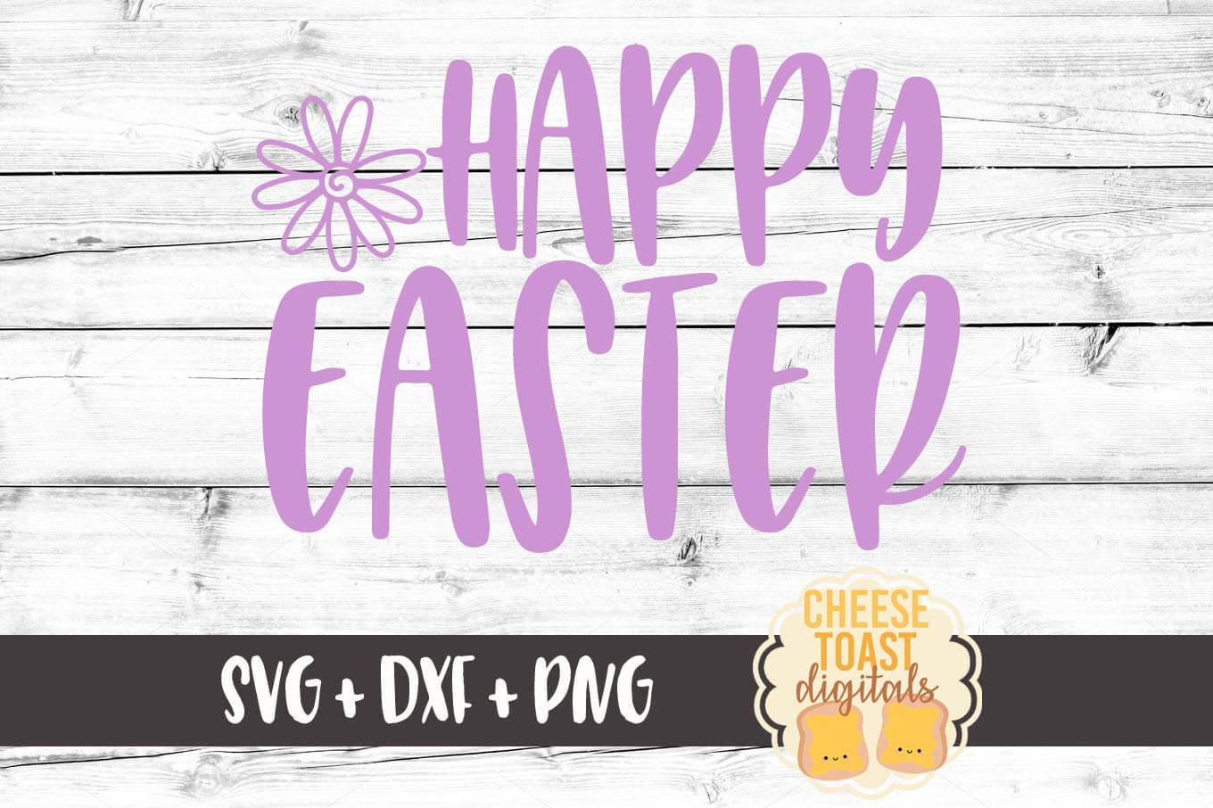 Happy Easter - SVG, PNG, DXF