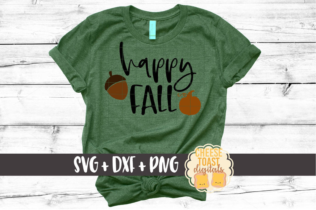 Happy Fall Svg Free And Premium Svg Files Cheese Toast Digitals