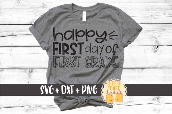 Happy First Day of School Bundle - 8 Designs