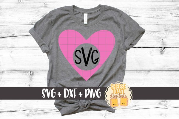 Heart Monogram - Solid