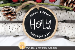 Holy | Christmas Ornament