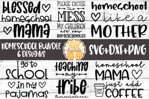 Homeschool Bundle - 6 Designs