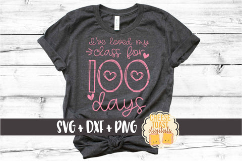 I've Loved My Class For 100 Days - Hearts
