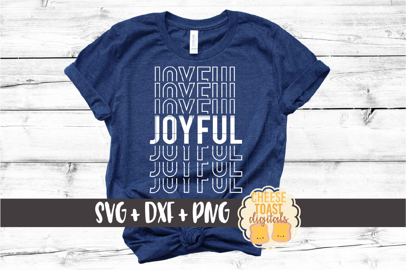 Joyful - Christmas Mirror Word