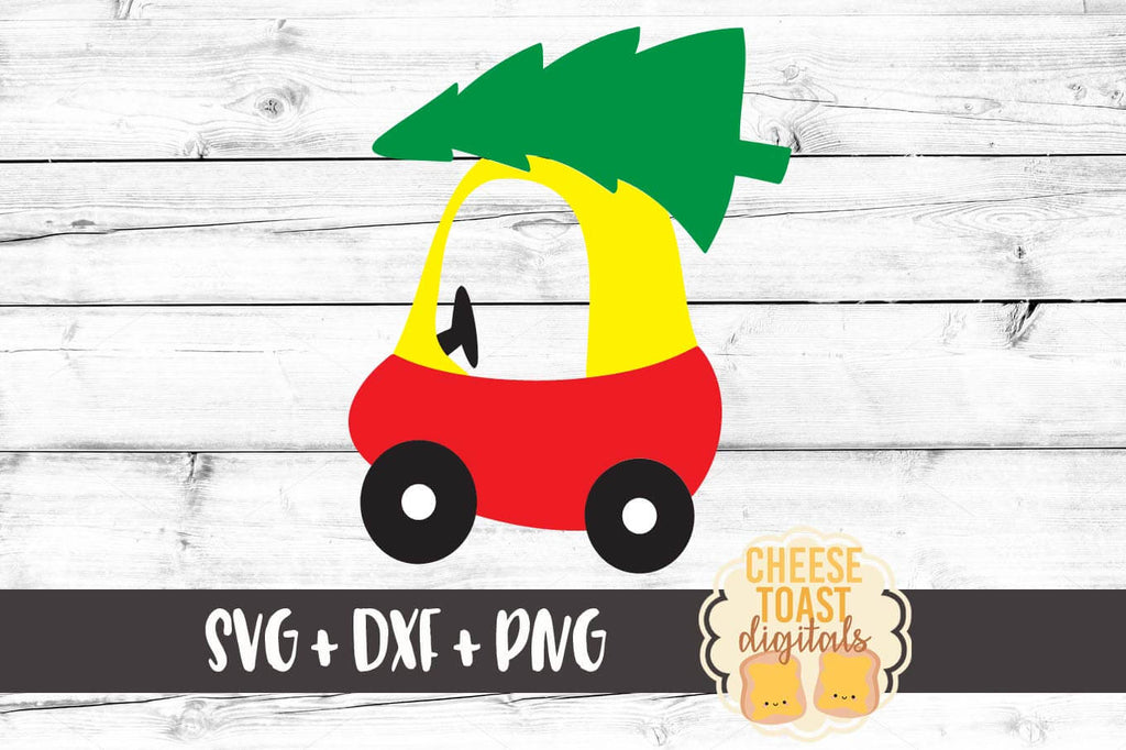 Kid Christmas Car Svg Free And Premium Svg Files Cheese Toast Digitals
