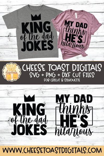 King of the Dad Jokes | My Dad Thinks He's Hilarious