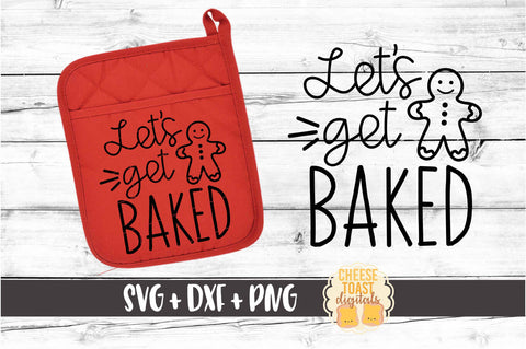 Let's Get Baked - Pot Holder Design