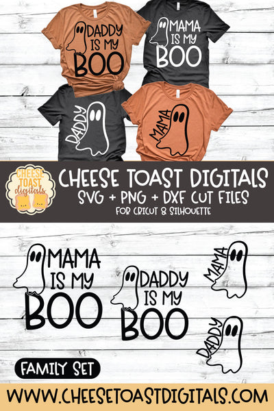 Mama Is My Boo | Daddy Is My Boo | Mama Ghost | Daddy Ghost