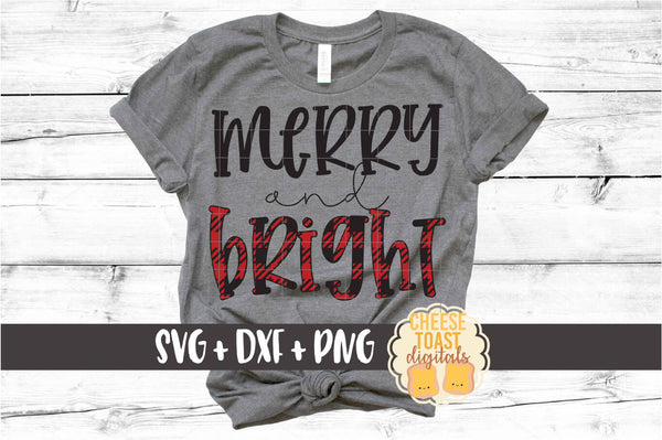 Merry and Bright - Buffalo Plaid