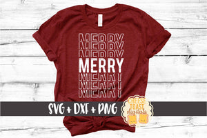 Merry - Christmas Mirror Word