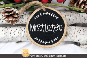 Mistletoe | Christmas Ornament