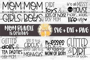 Mom Bundle - 18 Designs
