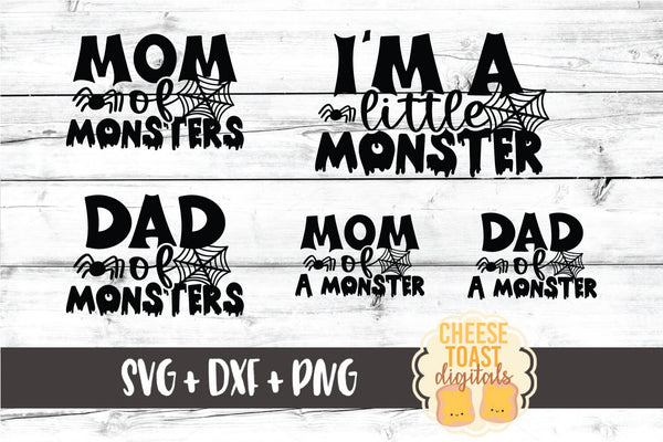 Mom of Monsters | Dad of Monsters | I'm A Little Monster