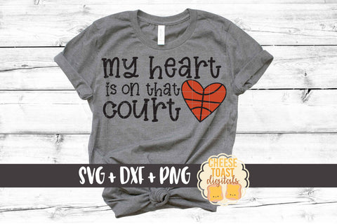 My Heart Is On That Court - Basketball