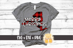 New York - Buffalo Plaid Merry Christmas