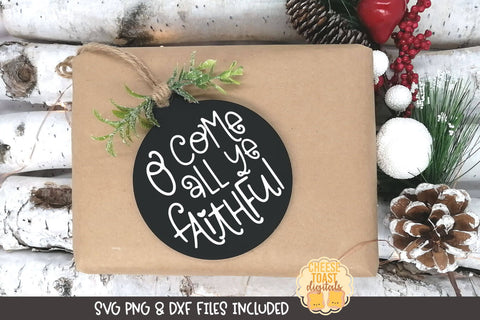 O Come All Ye Faithful | Christmas Ornament