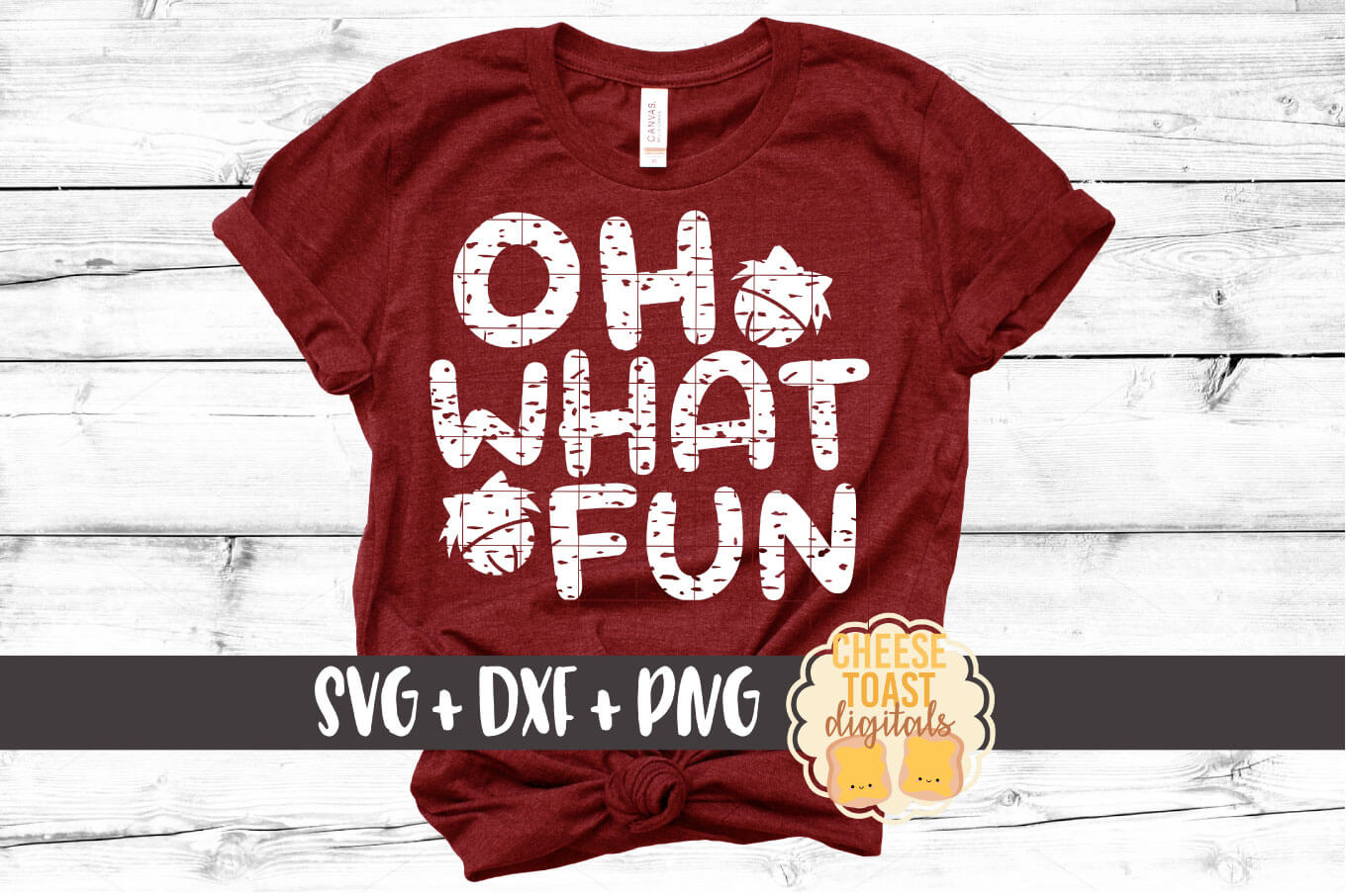 Oh What Fun - Distressed