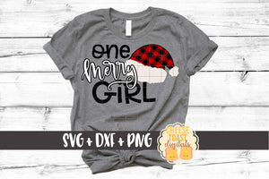 One Merry Girl - Buffalo Plaid