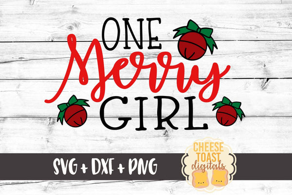 One Merry Girl - SVG, PNG, DXF