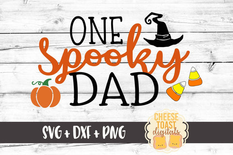 One Spooky Dad - SVG, PNG, DXF