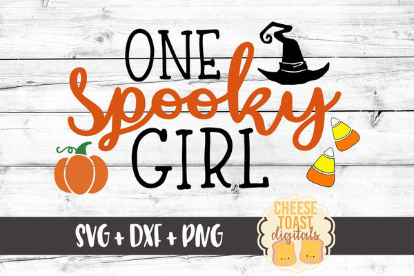One Spooky Girl - SVG, PNG, DXF