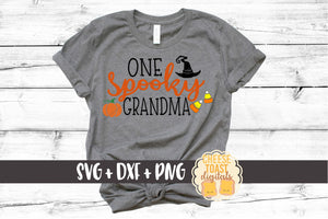 One Spooky Grandma - SVG, PNG, DXF