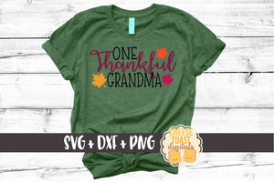 One Thankful Grandma - SVG, PNG, DXF