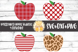 Patterned Apple Bundle