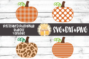 Patterned Pumpkin Bundle