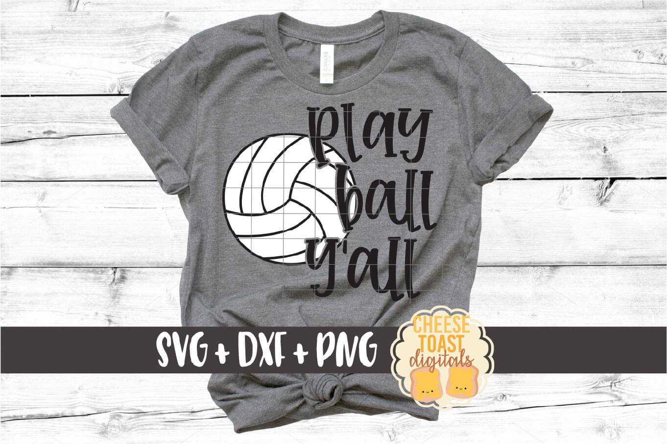Play Ball Y'all - Volleyball