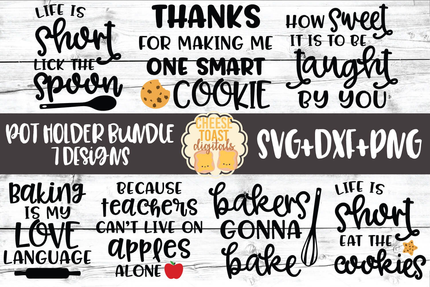 Pot Holder Svg Bundle Free And Premium Svg Files Cheese Toast Digitals