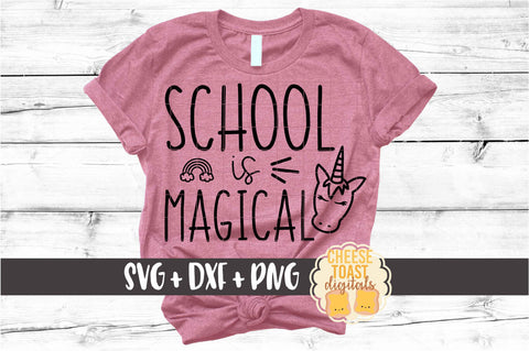 School is Magical - Unicorn