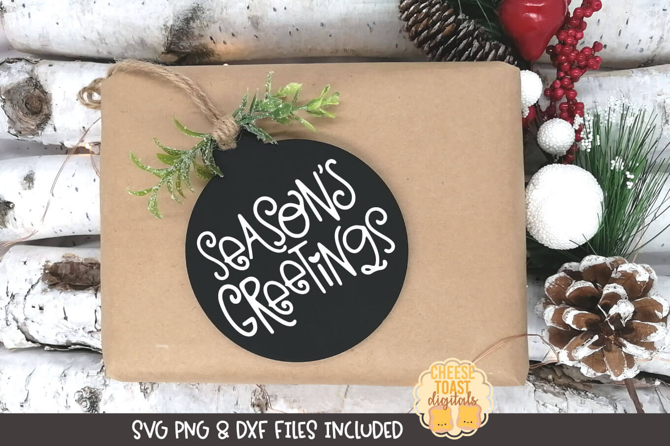 Season's Greetings | Christmas Ornament