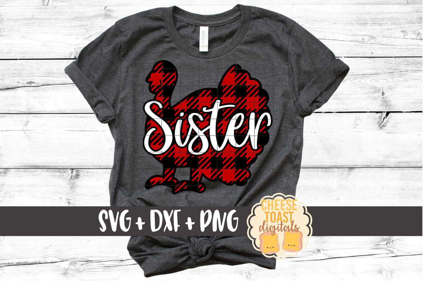 Sister Turkey - Buffalo Plaid